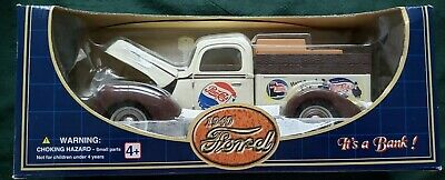 Pepsi Cola 1:18 Scale 1940 Ford Pickup Die Cast Bank