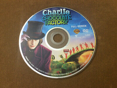 Charlie and the Chocolate Factory (DVD, FULL FRAME) Disc Only  30-127