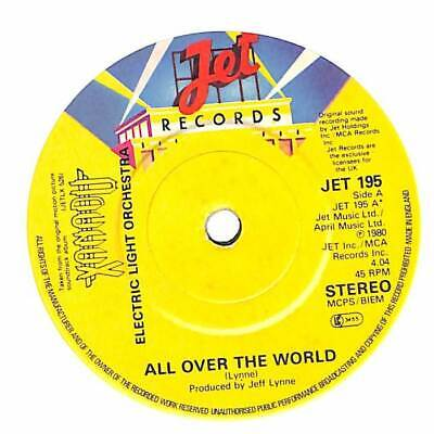 "Electric Light Orchestra - All Over The World - 7"" Record Single"