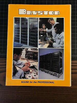 Bryston Power Amps Owners Manual