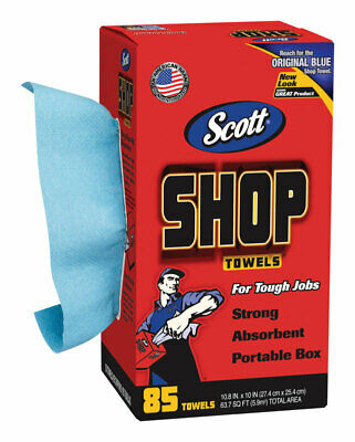 Scott  Paper  Shop Towels  10.4 in. W x 11 in. L 85 count