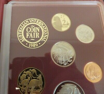 1989 International Coin Fair Australian Proof Set