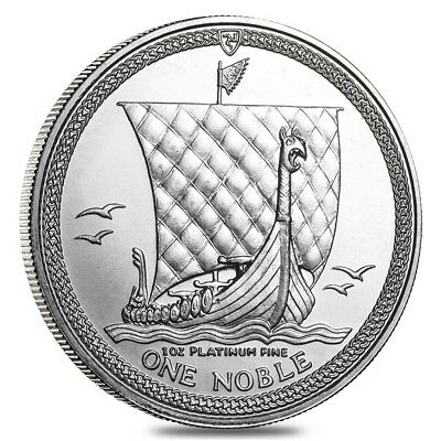 Isle of Man 1 oz Platinum Noble BU/Proof (Random Year)