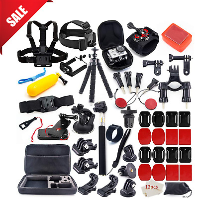 GoPro Accessories Kit Hero 7 6 5 Session Bundle Set Outdoor Sports Action Camera