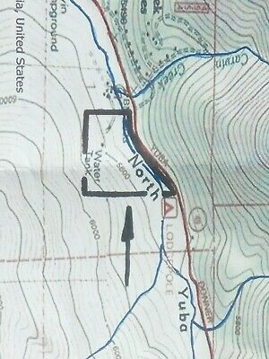 20 Acre Downieville, Ca. Placer Gold Mining Claim! N. Fork Yuba River!