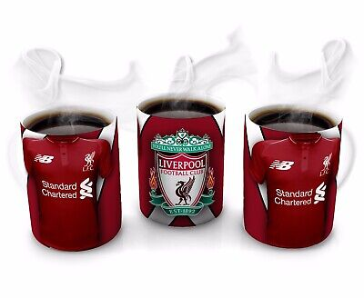 Liverpool FC Football Shirt Inspired Mug Cup Fans Tea Coffee Gift