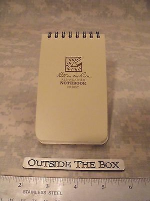 """""""Rite in the Rain"""" All-Weather Universal Notebook, Tan, 3"""" x 5"""" #935T"""
