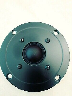 """NOS Peerless 1"""" soft dome tweeter 812687 high frequency driver 8 ohm 279-130"""