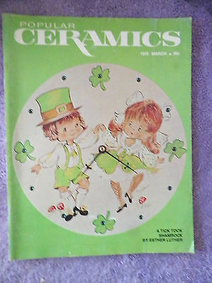 Popular Ceramics Magazine - March 1976