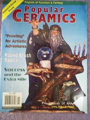Popular Ceramics Magazine - April 2002