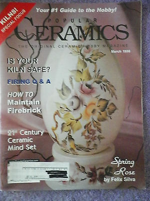 Popular Ceramics Magazine - March 1998