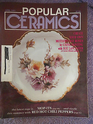 Popular Ceramics Magazine - April 1991