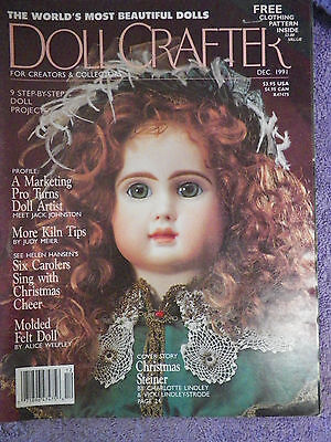 Doll Crafter Magazine - December 1991  Pattern Inside
