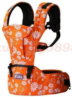 7c0c28c81b4 Baby Carrier Hip seat Baby Sling Toddler Rider Wrap Canvas Backpack Orange  Color