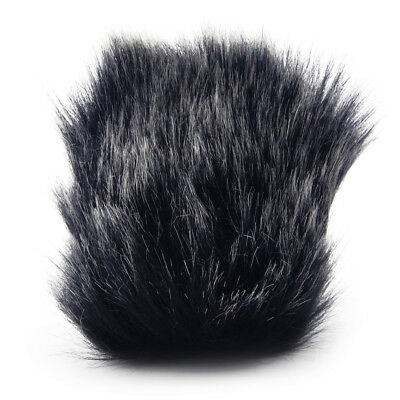 1×Fur Windshield Windscreen Wind Muff for Sony D100 Digital Recorder Camcorder