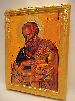 Icon Saint John The Evangelist Byzantine Greek Orthodox Religious Icon Art