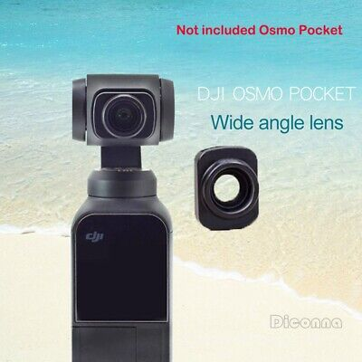 Waterproof Wide-angle Lens For DJI OSMO POCKET Handheld Camera HD Anti-shake