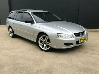 2005 Holden Commodore VZ Executive Wagon 5dr Auto 4sp 3.6i Cream Automatic A