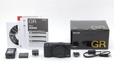 [UNUSED] RICOH GR II 16.2MP Digital Camera Black from japan #896