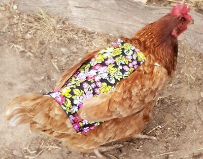 Chicken Saddle for poultry protection reversable