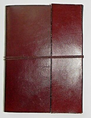 Brown Journal Business Diary Address Book Leather Notebook Plan Paper
