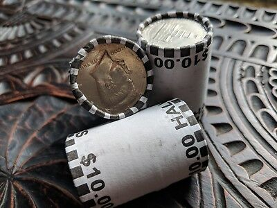 One Unsearched Half Dollar Coin Roll ($10.00) - Possible Silver Kennedy Franklin