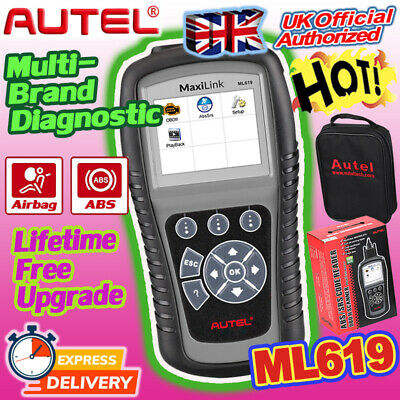 Autel ML619 AL619 EU OBD2 Diagnostic Tool Scanner Code Reader SRS ABS Airbag