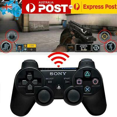 PS3 Wireless Bluetooth Gamepad Dual shock Game Controller Joystick for PC AU