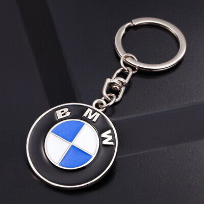 Auto Car Logo Metal Key Chains Pendant Holder Keyring Keychain for BMW Ford Jeep