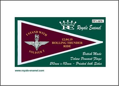 Royale Scooter Pennant Flag Soldier F Rolling Thunder Ride 12.04.19 - Fp1.1678