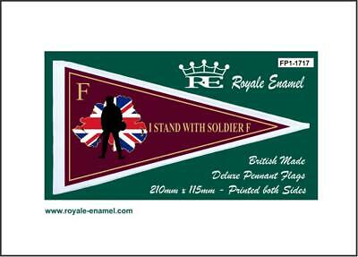 Royale Scooter Pennant Flag I Stand With Soldier F - Fp1.1679