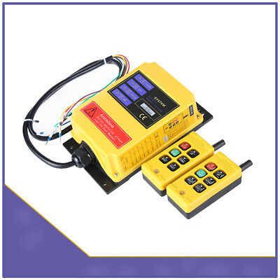 F21-4S DC 12V Double Emitter Industry Wireless Remote Control for Elevator
