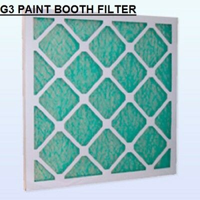 G3 PANEL FILTER SPRAY BOOTH Fiberglass Panel Filter - Various Sizes 2 pack
