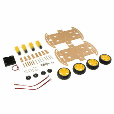 EG_ 2Pcs 2WD Robot latest Car Chassis Comfortable Kit Car with Speed Encoder Set