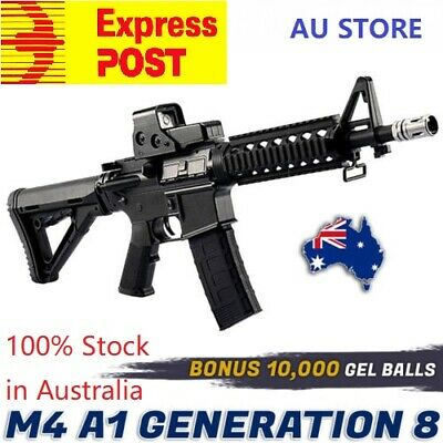 Jinming Upgraded Full Nylon Gen 8 M4A1 Gel Ball Blaster Gun Mag 100% Aus Stock