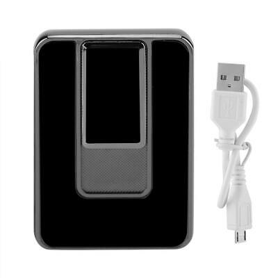 USB Electric Rechargeable Flameless Windproof Touch Induction Cigarette Lighter