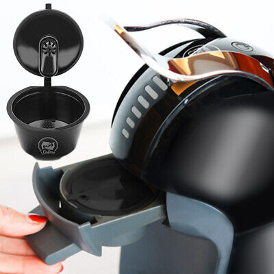 Reusable Refillable Coffee Capsule Pod Cup For Nescafe Plastic Filter Repetitive