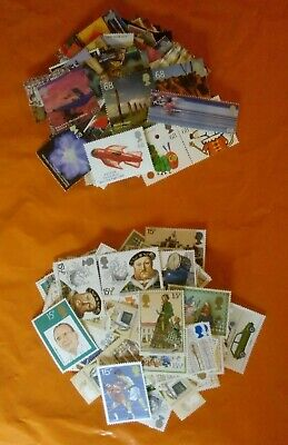 50 2nd Class Large Letter (2 Stamps = 83p) Genuine Mint British Postage 13% OFF