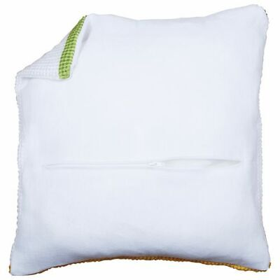 Orchidea Cushion Back with Zipper Ecru FREE UK P/&P 40 x 40cm
