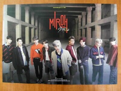 STRAY KIDS - Cle1 : MIROH (Ver. B) [OFFICIAL] POSTER K-POP *NEW*