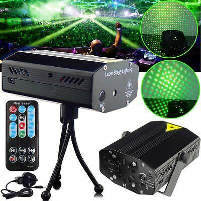 LED Stage Lighting Mini R&G Led Laser Projector Disco Party Club DJ Light
