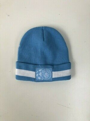 a2ac720f05d17 Manchester City FC Men s Champions League Club Beanie - OSFA - Blue - New