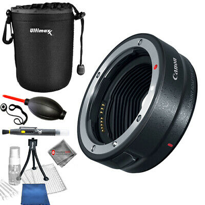 Canon Mount Adapter EF-EOS R + Lens Pouch Bundle - AUTHORIZED CANON DEALER