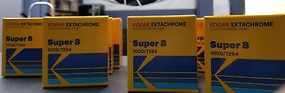KODAK EKTACHROME SUPER 8mm Film 64T 7280 Color Reversal Ekta