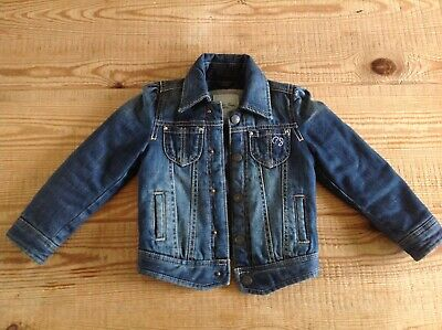 Pepe Jeans London Denim Padded Jacket Size 4