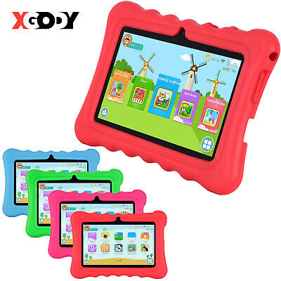 "XGODY For Kids Android Tablet PC 7"" Inch Quad-core 8GB WIFI IPS HD Bundled Case"