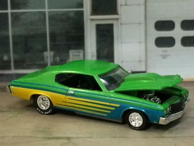 RESTO MOD 1970 Chevrolet Chevelle SS V-8 Street Rod 1/64 Scale Limited Edit Z8