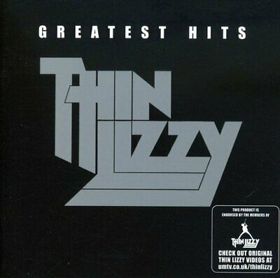 THIN LIZZY GREATEST HITS 2 CD SET (Very Best Of)