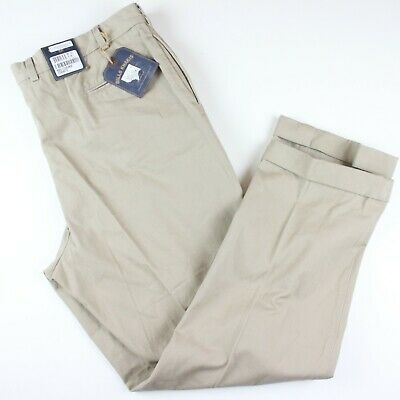 295f5ba1f25 Bills Khakis Men s Pants sz 44x32 Plain Beige Twill Flat Front  159 M2-KVT  Chino