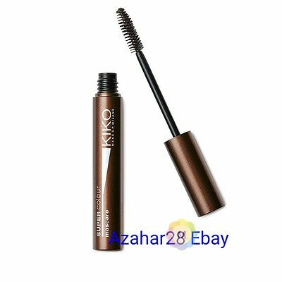 Kiko Milano Super Colour Mascara Volume effect - 04 BROWN (BNIB) Discontinued